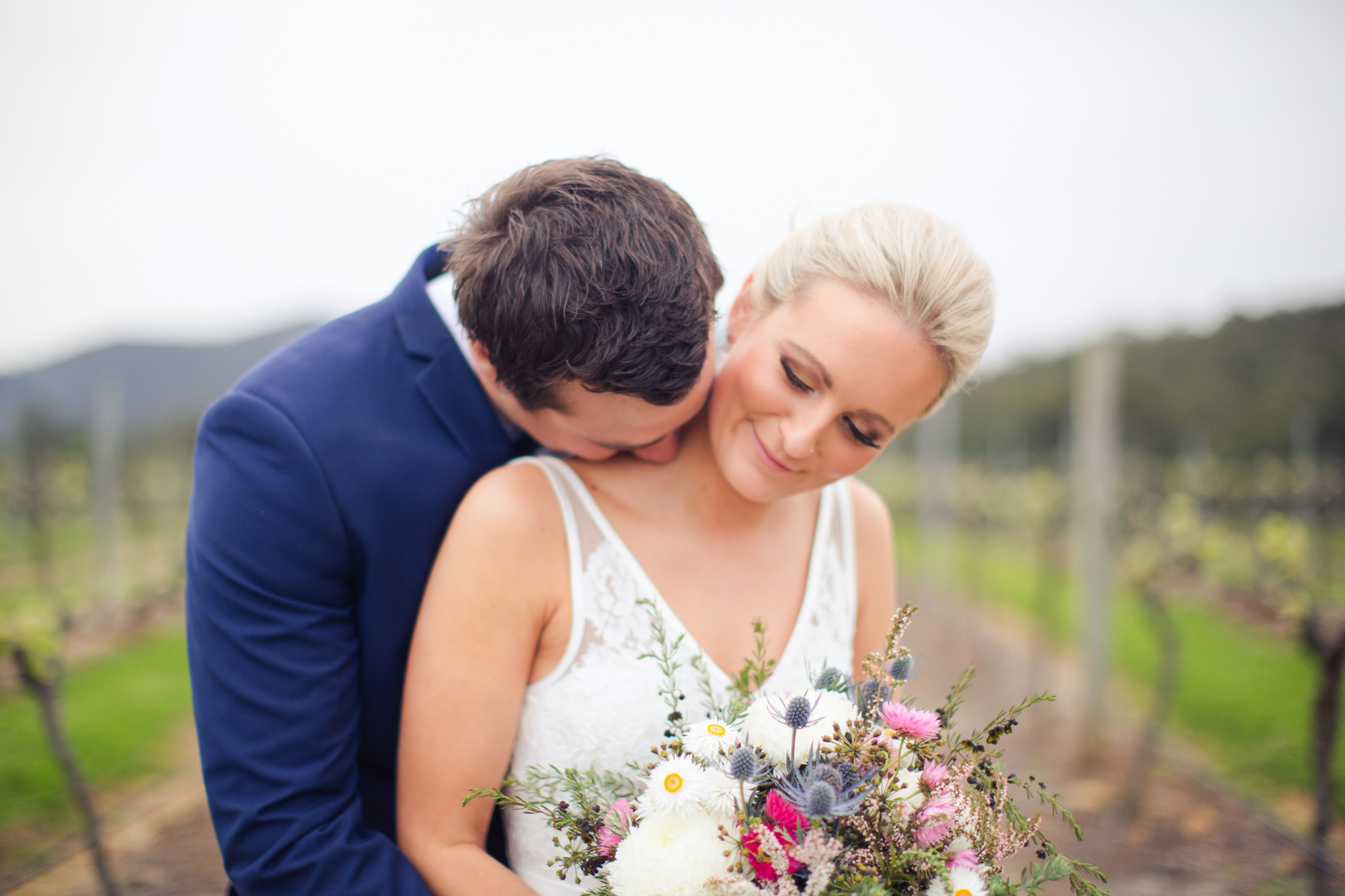 Romance-Wedding Day-Hunter Valley